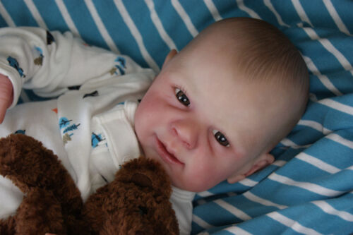 Reborn Baby Boy &quot;Damon&quot;~Ginger by Michelle Fagan~FREE SHIPPING <br/> Cajun Cuties Nursery; Full Limbs; Painted Hair