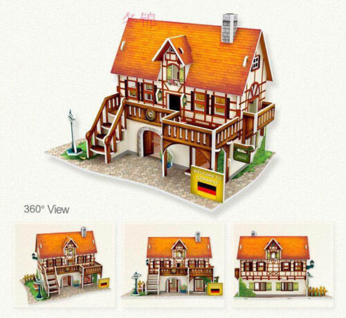 3D World Style Jigsaw Puzzle Best Christmas Gifts for Kids - Germany