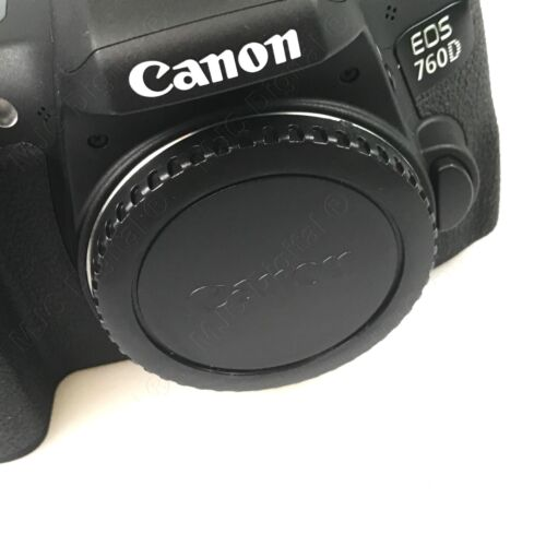 CAMERA FRONT BODY COVER and REAR LENS CAP HOOD for CANON EOS 5D, 5D Mark II 600D