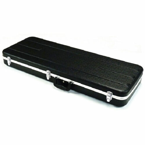 ABS Electric Guitar Hard Case Rectangular Rounded Corners Lockable Light Weight