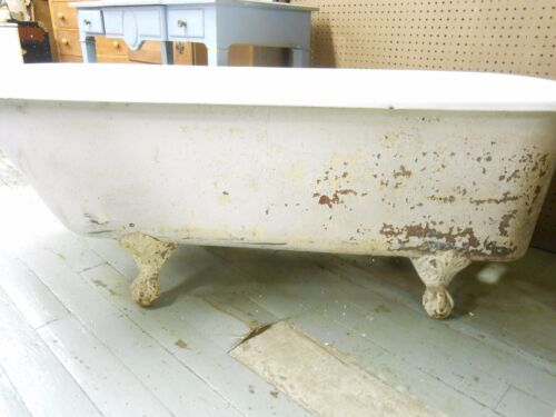 antique cast iron tub got free shipping