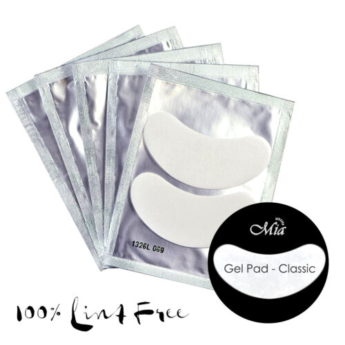 (Lots: 25~300 prs) Classic Lint Free Gel Eye Pads Patch Eyelash Extension <br/> Lint-Free. Zero Residue. Flexible Adhesion. Smooth.