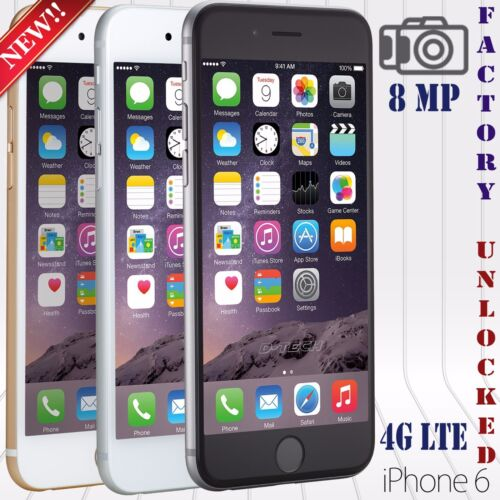 Apple Iphone 6 &amp; 6+ (16 / 64 / 128 GB) A+++ FACTORY UNLOCKED PHONE LTE HD  <br/> ✔100.000 FEEDBACK + ✔US FAST SHIPPING ✔ High Quality ✔