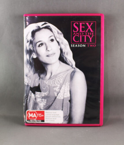 SEX AND THE CITY : SEASON 2 (DVD, 2011, 3-DISC-SET) LIKE NEW R4 PAL