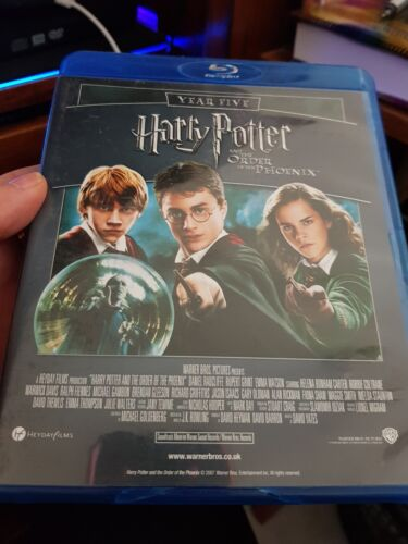 Harry Potter and The Order of The Phoenix + More -  Blu-Ray -  DVD  - FREE POST