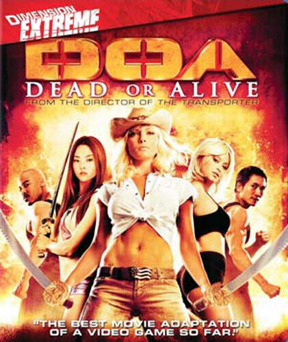 DOA: Dead or Alive BLU-RAY NEW