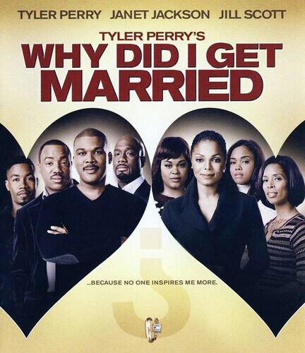 Why Did I Get Married?: The Movie (Tyler Perry's) BLU-RAY NEW