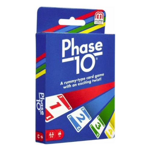 Phase 10 Card Game NEW