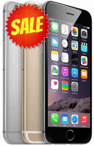 Apple iPhone 6 | Choose Your Carrier: Unlocked, Verizon, AT&amp;T, T-Mobile, Sprint <br/> UP TO 15% EXTRA OFF | TOP US SELLER| 30 DAYS EZ RETURNS