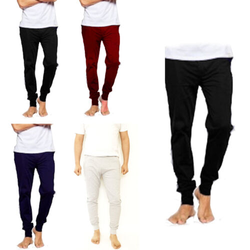 Mens Joggers Sweat Trousers Fit Pique Tracksuit Bottom Skinny Jogging Pants