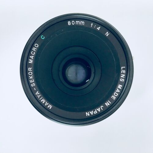 Mamiya 80mm lens 1.4 with caps