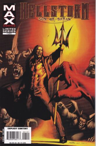 Hellstorm #1. Limited Edition. Variant Cover. VF/NM. 2006
