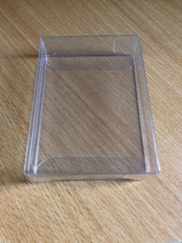 CARD CASE PLASTIC CLEAR PROTECTOR 5 PCS FITS 1 DECK OF PLAYING CARDS POKER SIZE