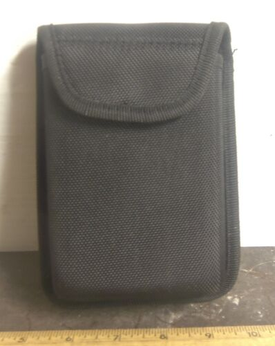 Black Nylon Molded Sheath Hip Pouch with Belt Loop for 8 Fluid Oz Flask or (?)Reproductions - 156470