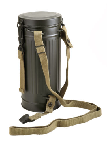 German WW2 Gas Mask Container TubeGermany - 156432