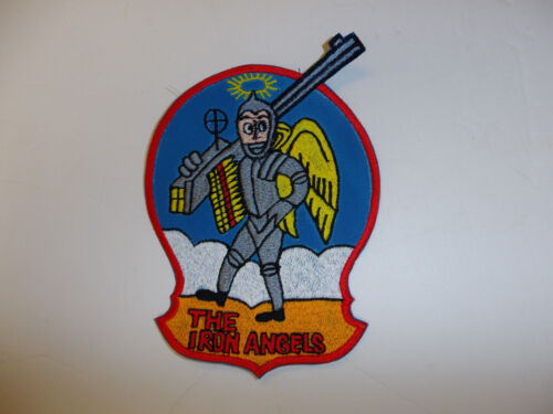 b5293 US Navy  Korea  VF 53 The Iron Angels USN patch Fighter Squadron R8EReproductions - 156443