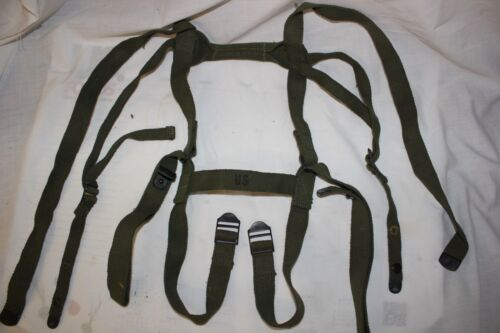 US Military Issue Vietnam Era Strap Assembly Carrying Sleeping Bag StrapsPersonal, Field Gear - 36065