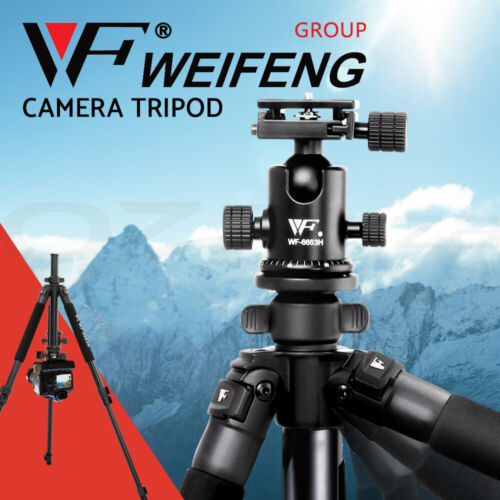 Weifeng Professional Tripod Digital Camera DSLR Camcorder Video Mobile Phone <br/> 20% off with code PARKA. Ends 25/07. T&amp;Cs apply.