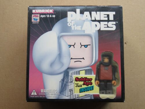 Planet of the Apes Medicom Toy Kubrick TAYLOR LUCIUS JAIL SOLDIER APE boxed in