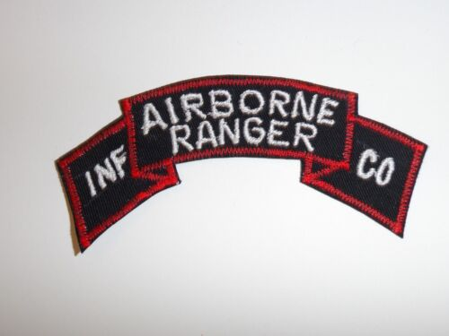 e1500 Korea War US Army tab Airborne Ranger INF infantry CO Company R21A2Reproductions - 156441