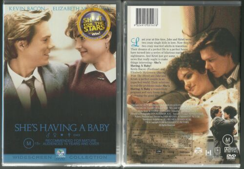 SHE'S HAVING A BABY KEVIN BACON ELIZABETH McGOVERN WILLIAM WINDOM GREAT NEW DVD