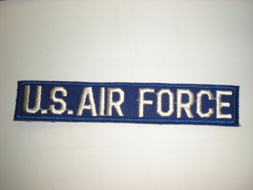1960'S ERA EMBROIDERED USAF POCKET TAPE- COLORPatches - 104015
