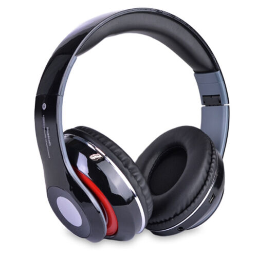 Bluetooth Wireless Headphones with Built In FM Tuner, Memory Card Slot and Mic <br/> Buy with Confidence,665,000+ Happy Customers, Fast Ship