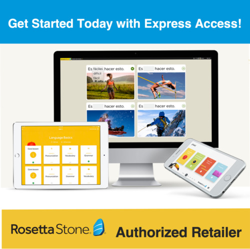 Rosetta Stone Buy 1 Get 1 Free Russian 2 Year Subscription + Homeschool Upgrades