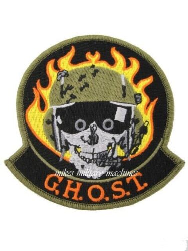 USAF Black Ops Groom Lake Area 51 Ghost Jolly Green Helicopter Squadron PatchAir Force - 66528