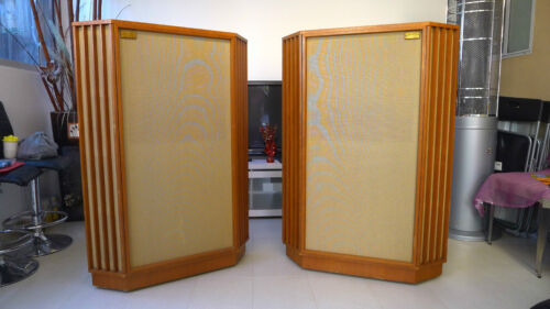 Tannoy Autograph Box & Tannoy 12' Vintage Red Monitor speaker  Reproduce Japan