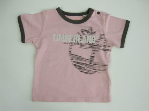 Timberland Baby Boys Round Neck Timberland Original Top size 6 months Pink Brown