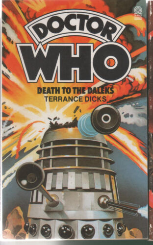 Doctor Who Death to the Daleks 20  NEW 1985 Dicks Terrance