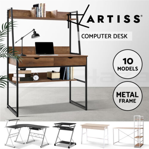 Artiss Computer Desk Table Wooden Metal Office Student Mobile Various Models <br/> Back to Study. Up to 5% OFF! Buy Your Favorite Desk!