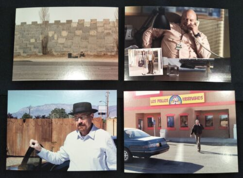 Breaking Bad 4 x Postcards 15.5cm x 11cm Official Licensed Memorabilia (d)
