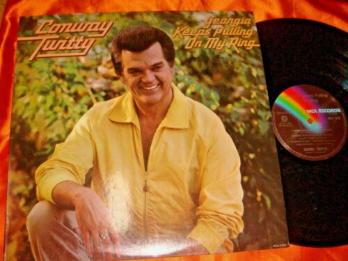 Conway Twitty, Georgia Keeps Pulling On My Ring, 12-inch LP vinyl 33 rpm.