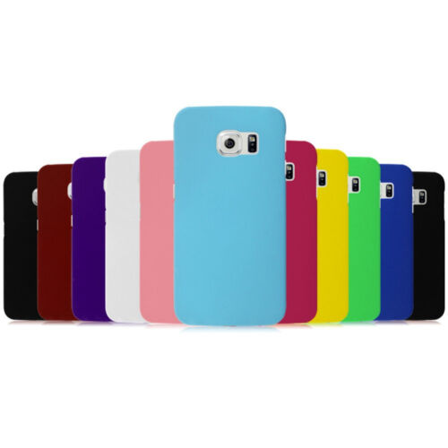Custodia BACK Cover Case Hard Rigida Matte Plastica Colorata per Samsung Galaxy