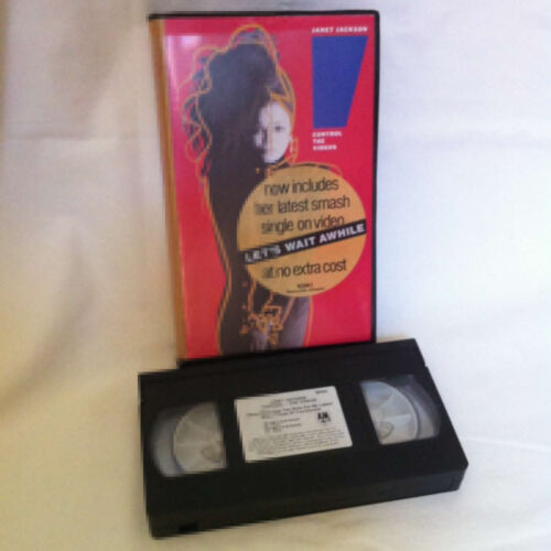 Janet Jackson - Control - The Videos - Music Video Cassette VHS
