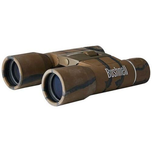 Bushnell 132517C Powerview 10x25 Compact Folding Roof Prism Binocular CamoHunting Binoculars - 31711
