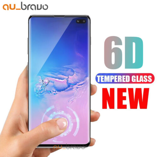 Samsung Galaxy S9 S8 Plus Note 9 8 6D Full Cover Tempered Glass Screen Protector