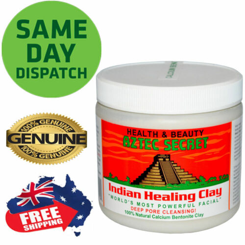 Aztec Secret India Healing Clay Facial Deep Pore Cleansing Mask 454g Genuine  <br/> *Same Day dispatch * safe to use * Genuine Product*