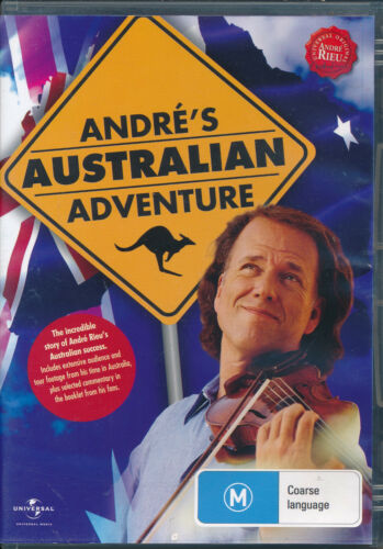 Andre's Australian Adventure DVD NEW Region 0