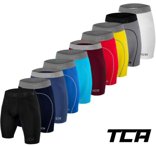 Mens Boys TCA Pro Performance Compression Armour Thermal Base Layer Under Shorts <br/> ✓ Free Delivery ✓ Pro Quality ✓ Easy Returns