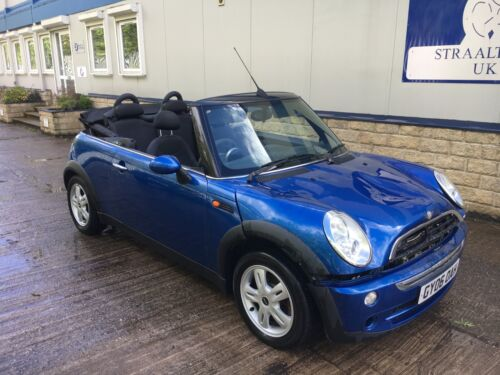 BMW MINI ONE 2007 57 MODEL LIGHT DAMAGED REPAIRABLE SALVAGE <br/> LIGHT DAMAGE NICE CLEAN CAR STARTS DRIVES WECAN DELIVER