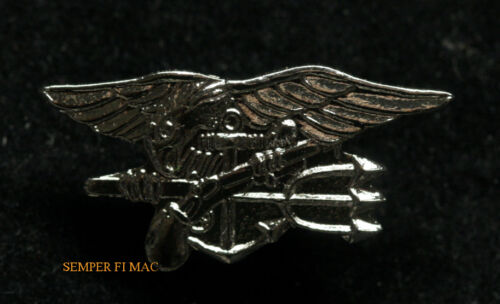 SEAL TEAM TRIDENT HAT LAPEL PIN USS US NAVY SPECIAL WARFARE ENLISTED SNIPER WOWNavy - 66533