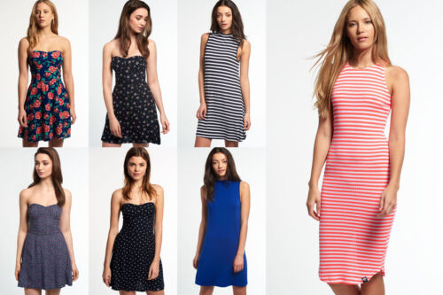 New Womens Superdry Dresses  - Various Styles &amp; Colours <br/> BUY FROM THE OFFICIAL SUPERDRY EBAY STORE