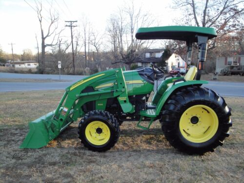 VERY NICE   JOHN DEERE 4105   4X4  LOADER TRACTOR ONLY 262 HOURS <br/> LOW  RESERVE AUCTION FROM B &amp; R EQUIPMENT