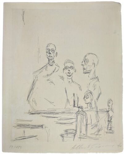 "ALBERTO GIACOMETTI ""SCULPTURES DANS L'ATELIER"" 1964 