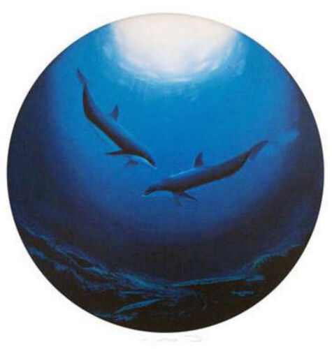 """WYLAND """"DOLPHIN SERENITY""""  S/N LITHOGRAPH WITH COA"""