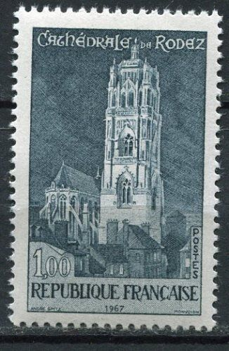 FRANCE TIMBRE NEUF N° 1504  ** CATHEDRALE DE RODEZ