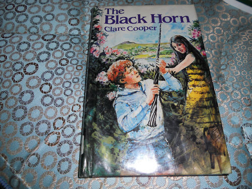 THE BLACK HORN clare cooper HBDJ  1ST ED 1881